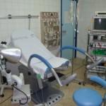 Foto con una sala de ginecología
