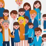 dibujos de familias que conviven con la espasticidad