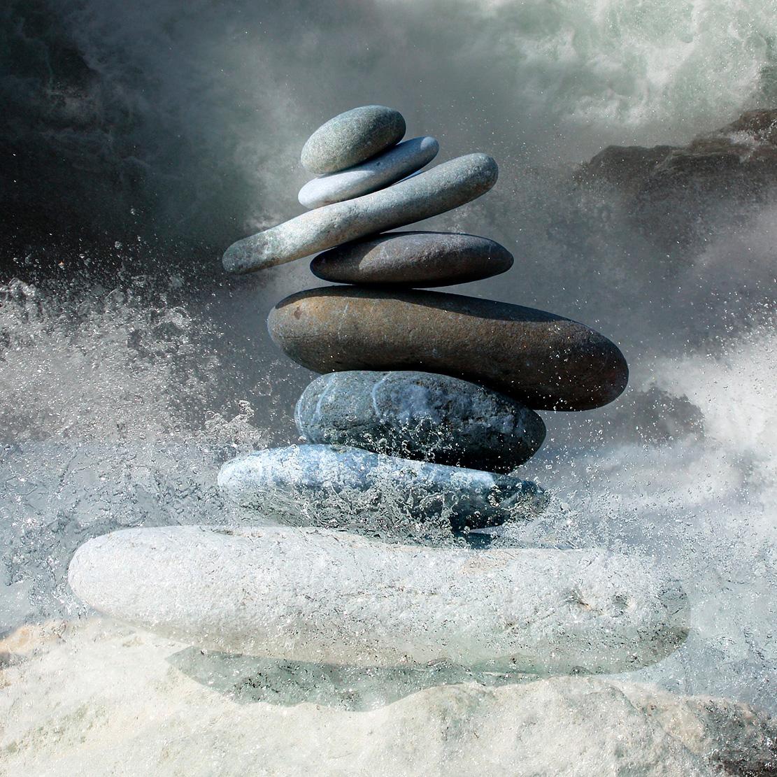 Foto de rocas en equilibrio