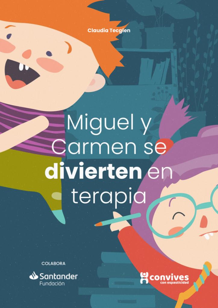 Portada LIbro Miguel y Carmen se divierten en terapia
